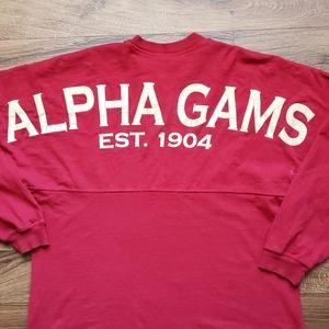Alpha Gams Jersey Shirt